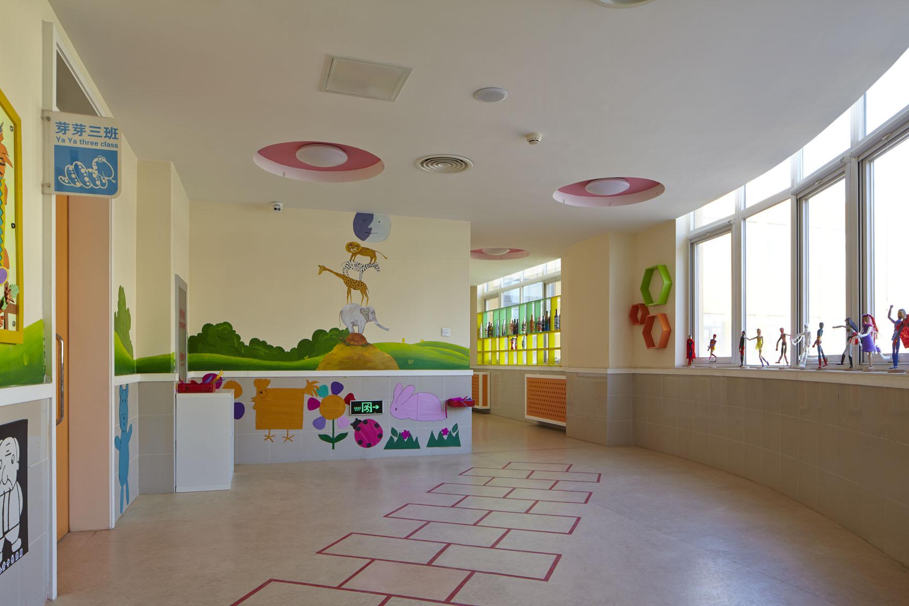亦庄第五幼儿园室内设计