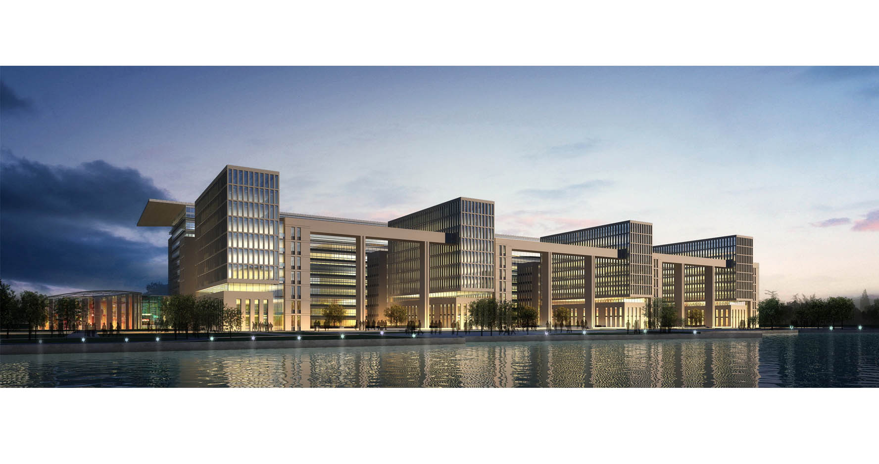 天津人力资源_通州新城行政办公楼 - 北京市住宅建筑设计研究院有限公司
