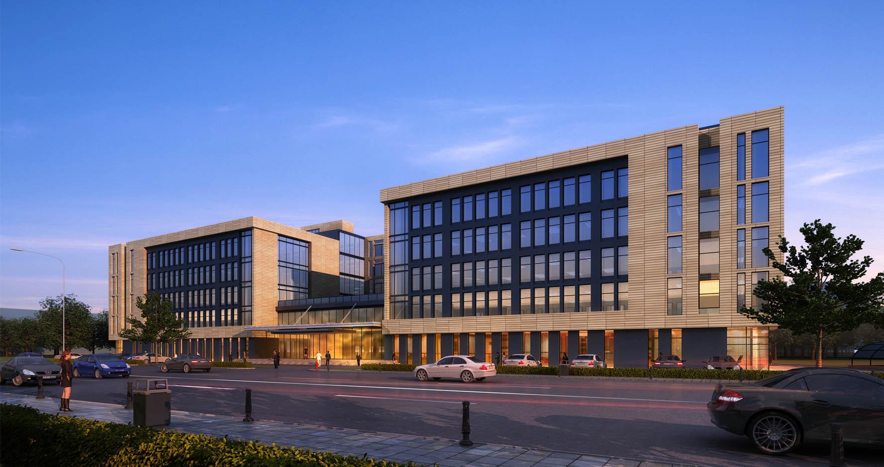 和协航电综合办公楼 - 北京市住宅建筑设计研究院有限